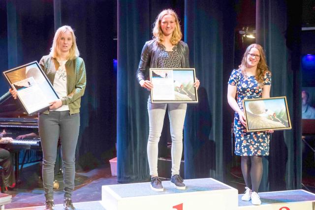 Titel 'Sportvrouw van het jaar' verrast Ruth Vorsselman