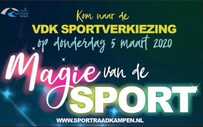 35ste editie van Kamper sportverkiezingen donderdag in volle Stadsgehoorzaal