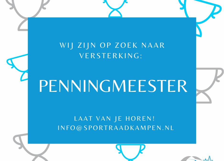 Sportraad Kampen zoekt Penningmeester