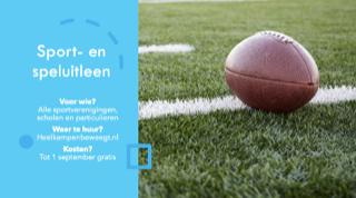 Sport en speluitleen Kampen